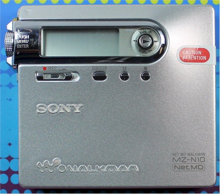 Sony Net Md Walkman Mz-n10 Manualidades