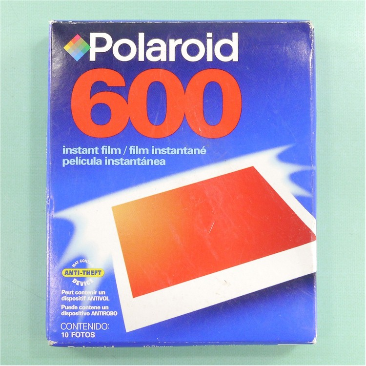 new polaroid 600 instant film 10 photos expired free ship 74100066020 ebay. Black Bedroom Furniture Sets. Home Design Ideas