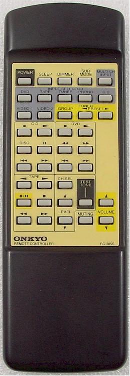 安桥onkyo功放原装遥控器rc-385s代换rc-443s