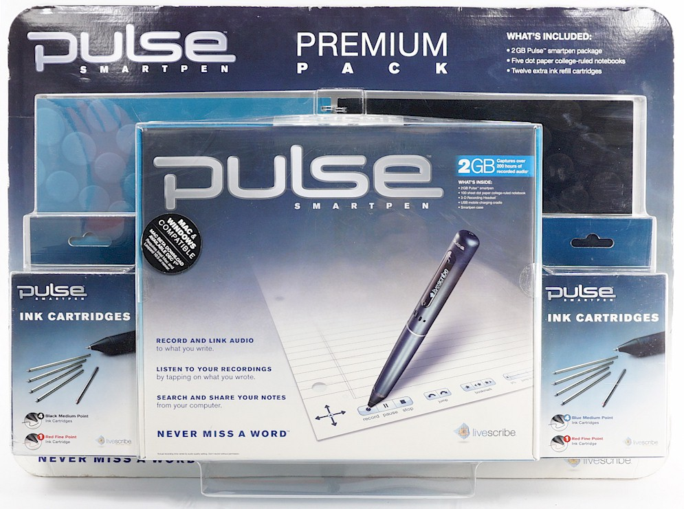 Graphics Tablets/boards & Pens Livescribe Pulse Smart Pen Set Moderate Cost Keyboards, Mice & Pointers