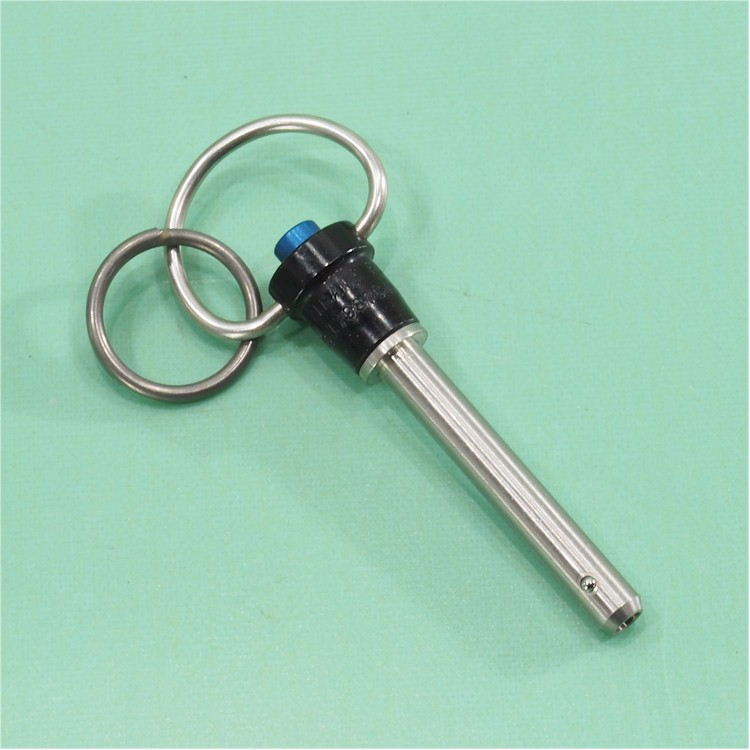 """1//4/"""" X 3-1//2/"""" GRIP 17-4 STAINLESS STEEL AVIBANK BALL LOCK QUICK RELEASE PIN"""